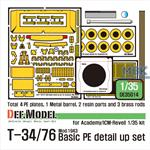 T-34/76 Mod.1943 Basic PE detail up set