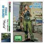 Modern IDF Female Soldier
