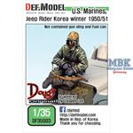US Marines Jeep Rider Koera Winter 1950/51