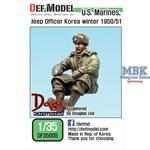 US Marines Jeep Officer Koera Winter 1950/51