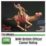WWI British Officer Camel Riding
