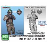 Modern ROK Tank commander for K2 tank