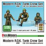 Modern ROK army Tank crew set ('90~2010)