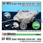 IDF M50 Super Sherman Turret Conversion Set
