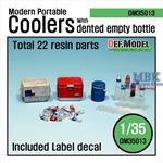 modern portable Cooler Set w/ bottles