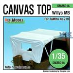 Willys MB Canvas Top