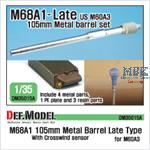 M68A1 105mm Metal Barrel Late Type (for M60A3)