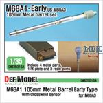 M68A1 105mm Metal Barrel Early Type (for M60A3)