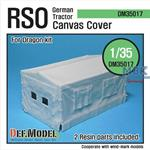 German RSO Tractor Canvas Cover
