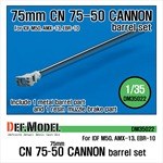CN 75-50 CANNON Barrel Set