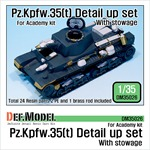 Pz.Kpfw.35(t) Detail up set - with stowage