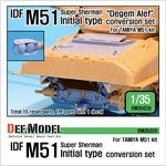 IDF M51 Super Sherman Initial type conversion set
