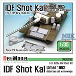 IDF Shot Cal Gimel 1982 detail up set w/stowage