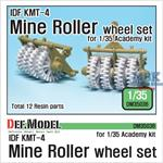 IDF KMT-4 Mine Roller Wheel set