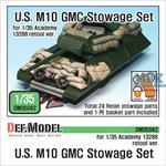 U.S. M10 GMC Stowage Set