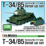 T-34/85 Fac.No. 112 Detail up set