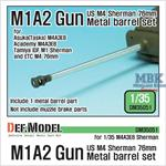 US M4 Sherman M1A2 Gun metal barrel set