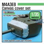 M4A3E8 Mantlet Canvas Cover set