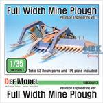 Full Width Mine Plough kit