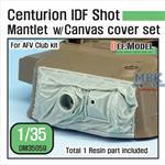 Centurion IDF Shot Mantlet w/ Canvas cover set
