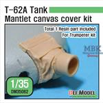 T-62A Tank Mantlet Canvas cover kit