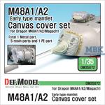 US M48A1/A2 Early canvas cover set