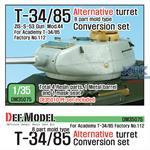 T-34/85 8 part mold type Alternative Turret Conv.