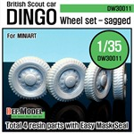 WW2 UK Dingo Wheel set