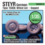 WW2 WW2 German Steyr 1500A Wheel set