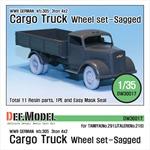 WW2 German 3t Cargo(Opel) Truck Wheel set