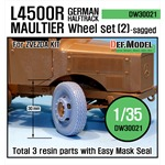 WW2 German L4500 R Maultier Wheel set 2