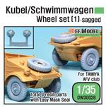 WWII Kübel/Schwimmwagen Wheel set (1)
