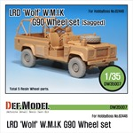 LRD XD Wolf 'W.M.I.K' G90 Sagged Wheel set