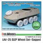 US LAV-25 Sagged Wheel set