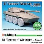 B1 Centauro RCV Sagged Wheel set