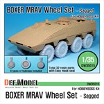 German GTK Boxer MRAV Sagged Wheel set