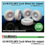 M1078 LMTV Truck Sagged Wheel set