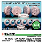 M1070/M1000HETS Sagged wheel set (limitiert)