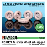 U.S RSOV Defender Sagged wheel set