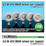 U.S M-ATV Sagged wheel set