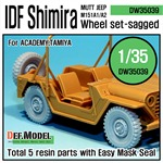 IDF M151 Shimira Sagged wheel set