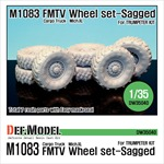 US M1083 FMTV Truck Mich.XL Sagged wheel set