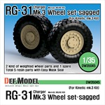 US RG-31 Mk.3 Sagged Wheel set