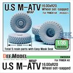 US M-ATV MRAP big sagged Wheel set