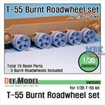 T-55 Burnt roadwheel set