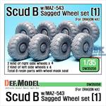 Scud B w/MAZ-543 Sagged Wheel set #1