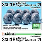 Scud B w/MAZ-543 Sagged Wheel set #2