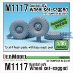 US M1117 Guardian ASVi Sagged Wheel set
