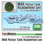M48 Patton Tank Roadwheel set