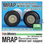 MRAP Sagged Wheel set